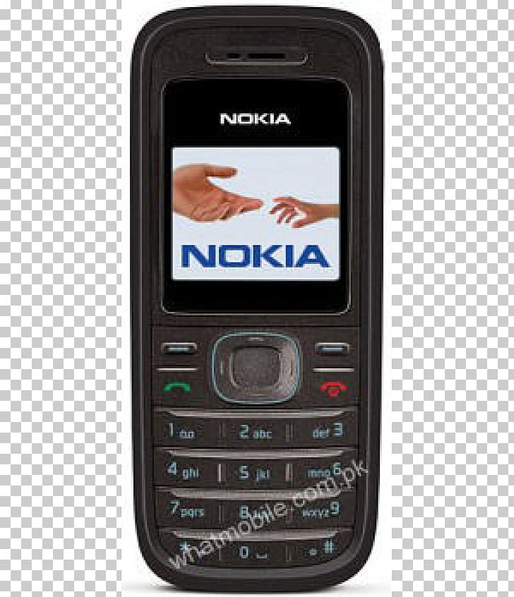 Feature Phone Nokia 1208 PNG, Clipart, Black, Cellular.