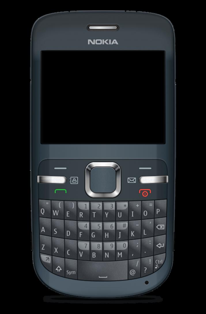 Nokia keypad mobile.
