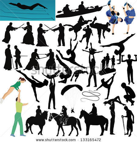Nomad People Vector Collection Set Kazakha Stock Vector 519193642.