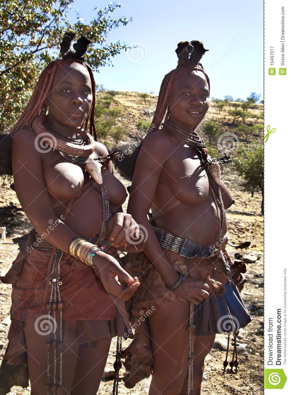 Himba Nomadic Tribe.