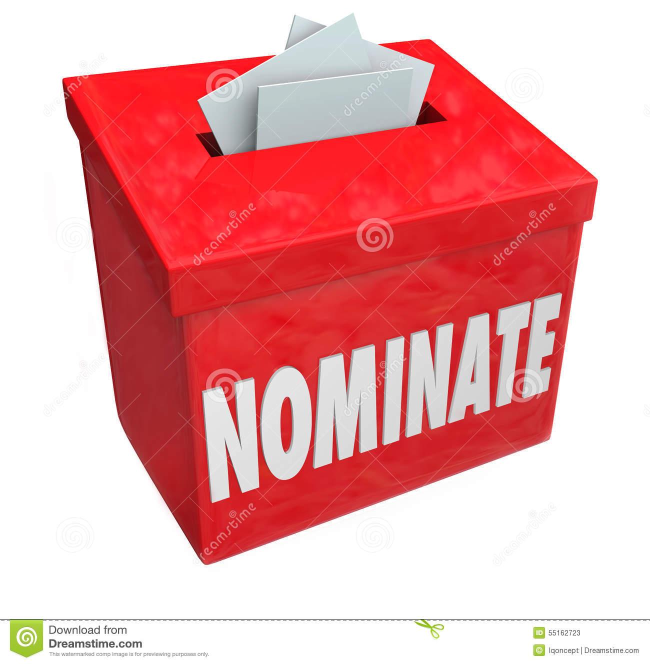 Nomination Clip Art.