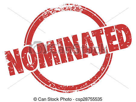 Drawings of Nominated Red Stamp Chosen Selected Choice Nomination.