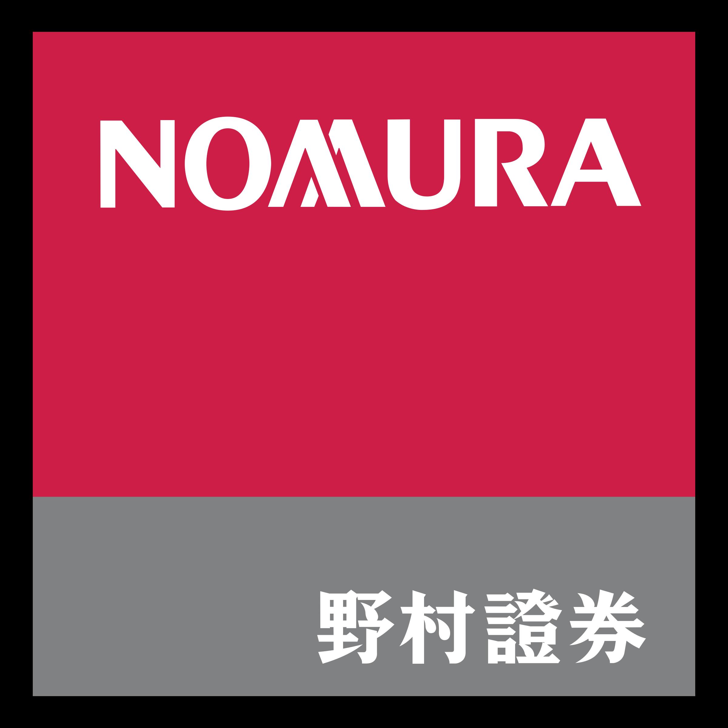Nomura Logo PNG Transparent & SVG Vector.