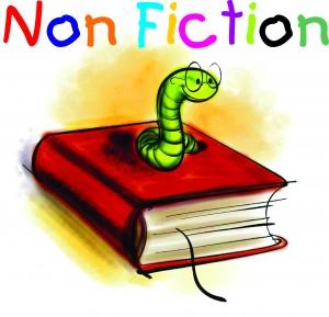 Non Fiction Books Clipart.