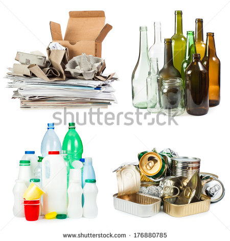 Non recyclable waste clipart #15