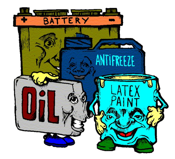 Non recyclable waste clipart #18
