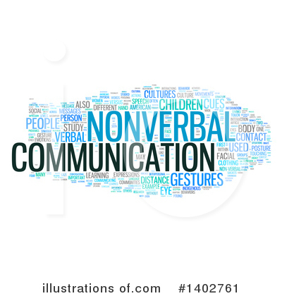 Nonverbal Communication Clipart #1402761.