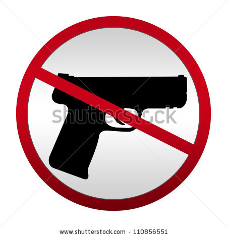 Clipart no gun violence.