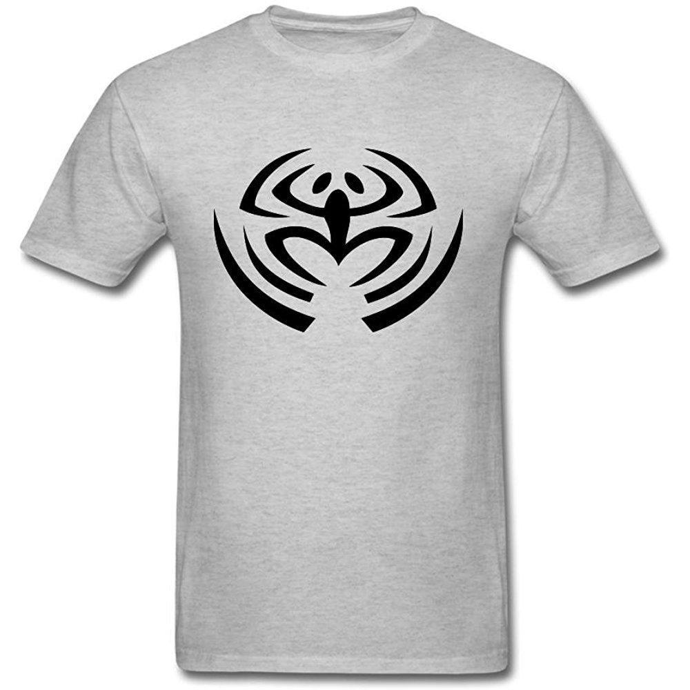 CHENGXINGDA Men\'s Red Nonpoint Logo Short Sleeve T.