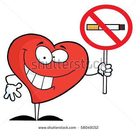 Clipart illustration non smoking sign.