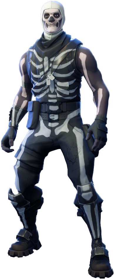 Fortnite Skull Trooper Png Image.