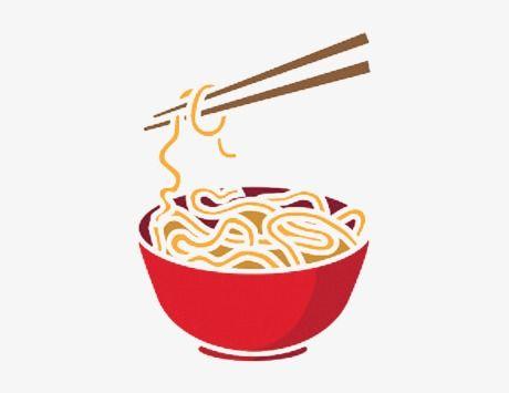 A Bowl Of Noodles Cartoon, Cartoon Clipart, Noodles, Pasta.