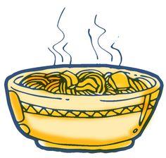 Clipart noodle.