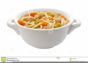 Chicken Noodle Soup Clipart.
