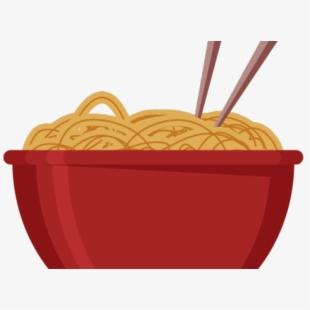 Bowl Of Noodles Clipart.