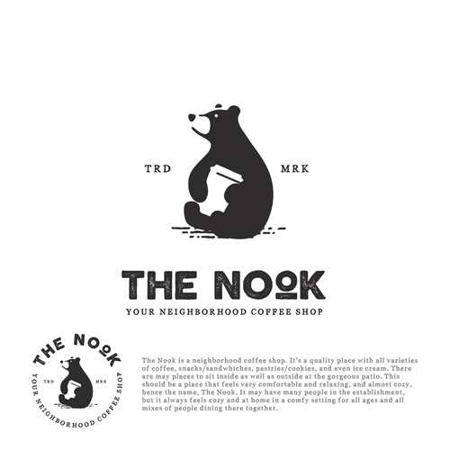 Coffee Shop logo needed! THE NOOK.