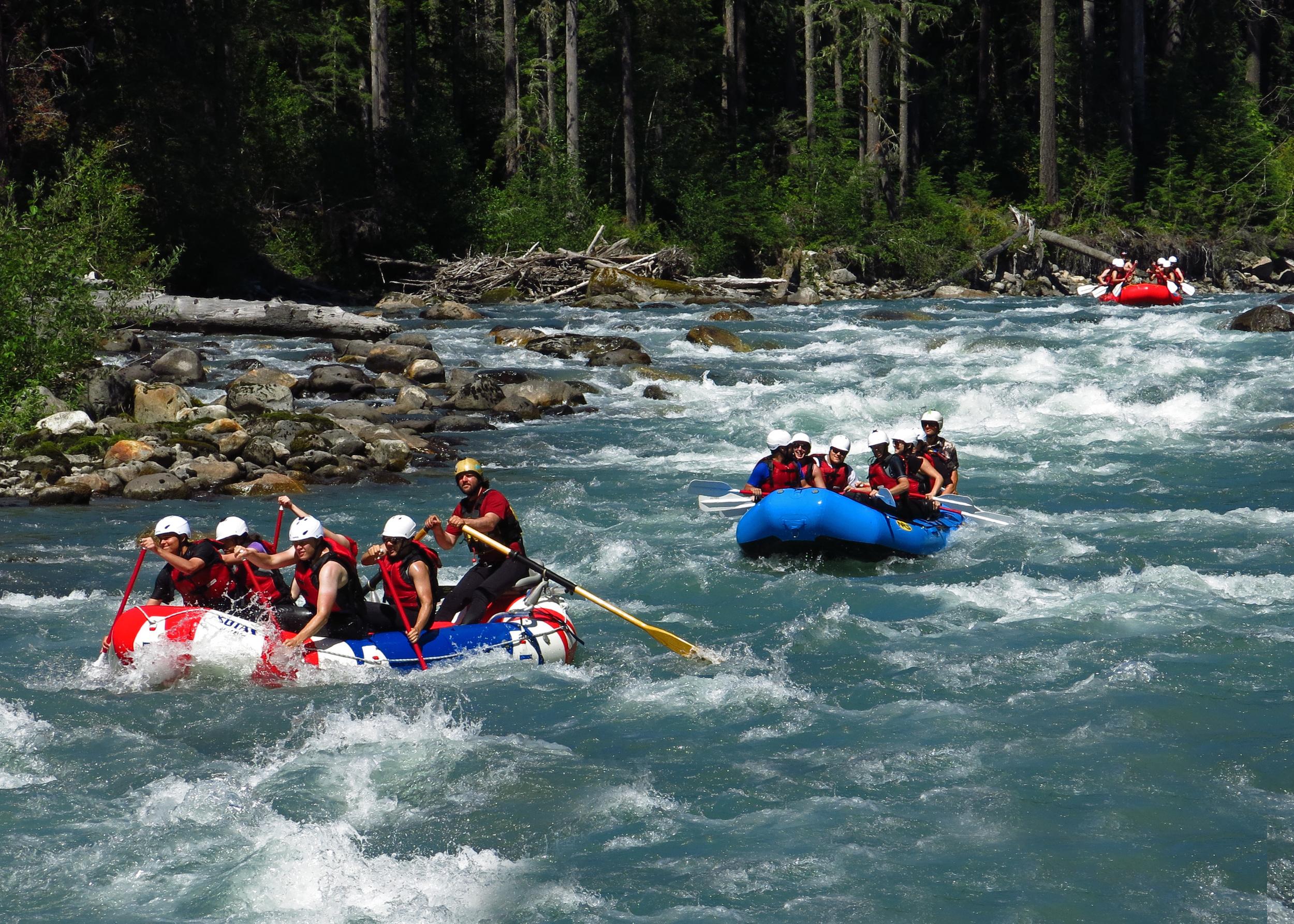 Nooksack River — River Rafting.