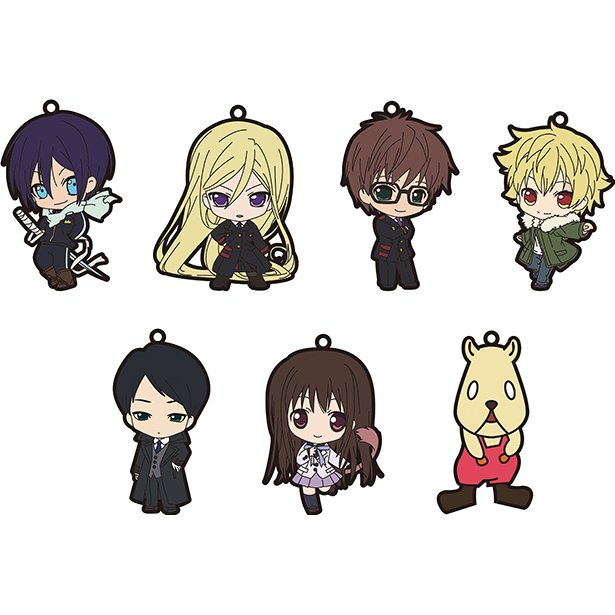 Noragami Aragoto Acrylic God Keychain (Set of 10 pieces).