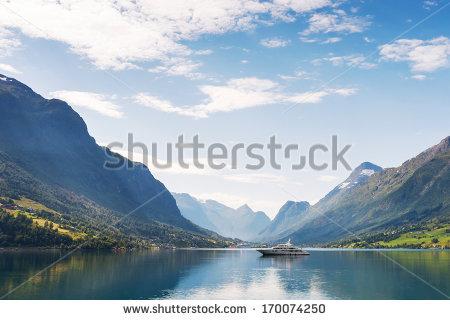 Nordfjord Stock Photos, Royalty.