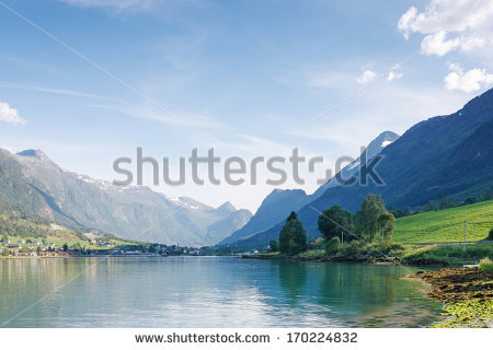 Nordfjord Stock Photos, Royalty.