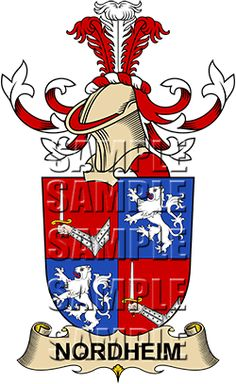 Coats, Coat of arms and Family crest on Pinterest.