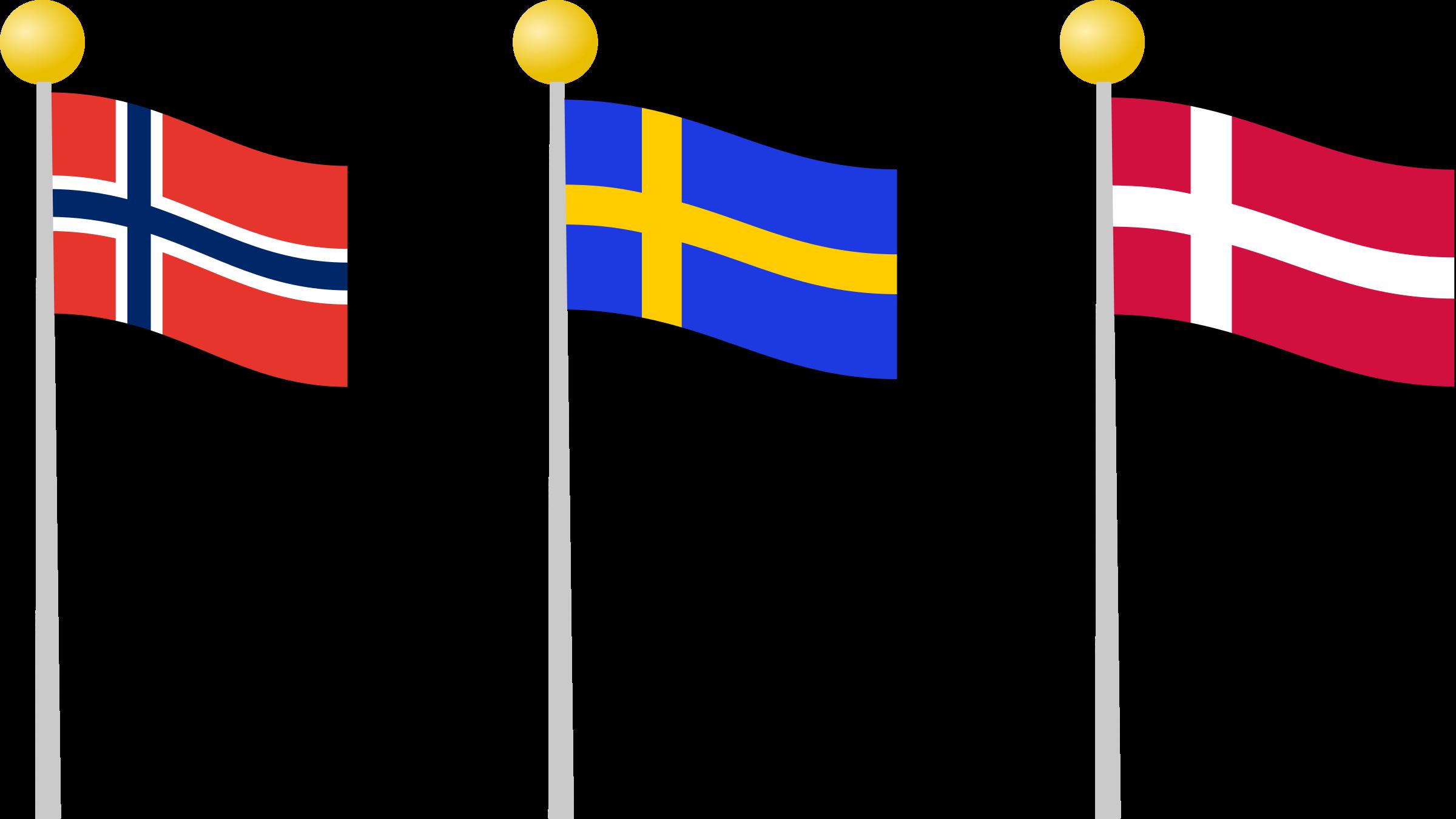 Scandinavian Clipart.