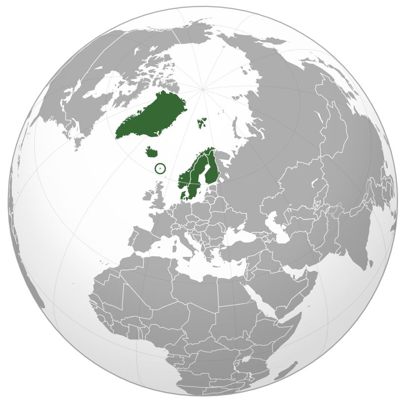Greenland Map Green Clipart.