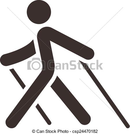 Nordic walking Clip Art and Stock Illustrations. 288 Nordic.