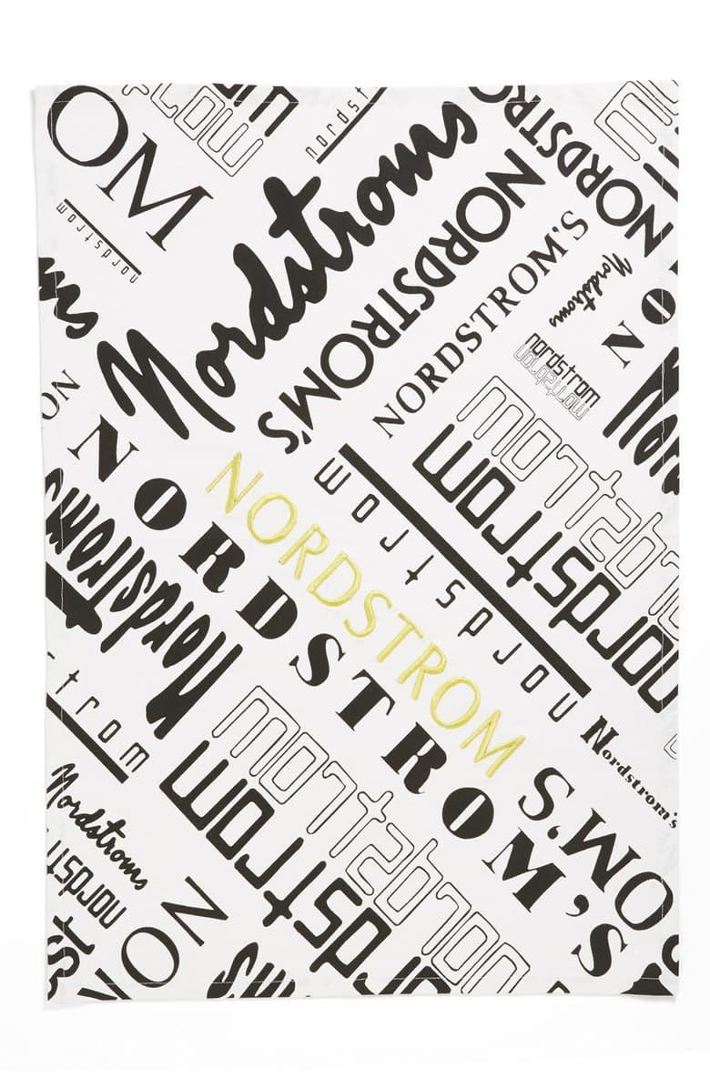 Nordstrom Heritage Collection \'Historical Nordstrom Logo\' Print Dish Towel.