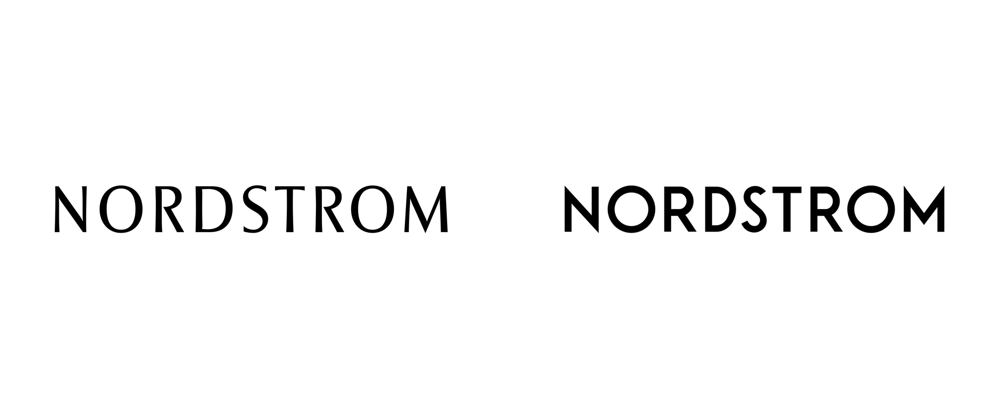 Brand New: New Logo for Nordstrom.