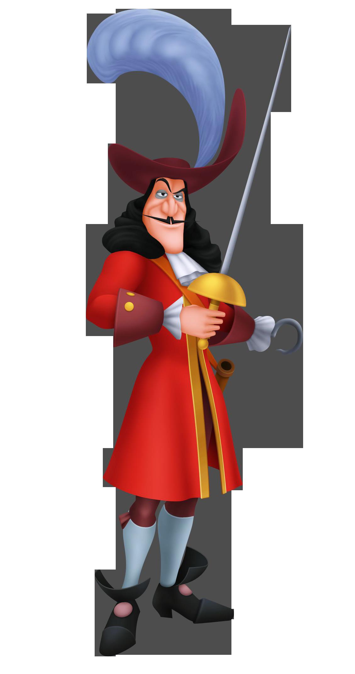 Captain Hook.