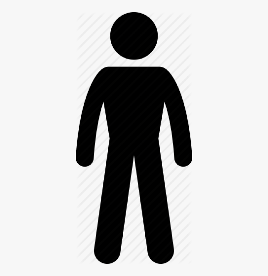 Body, Man, Normal, Person, Size, Thin, Weight Icon.