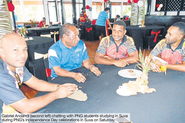 Norman Finance announces sponsorship of PNG students in Fiji.