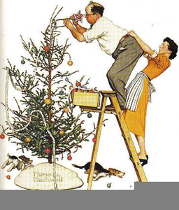 Norman Rockwell Clipart.