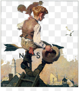 Norman Rockwell Paintings PNG and Norman Rockwell Paintings.