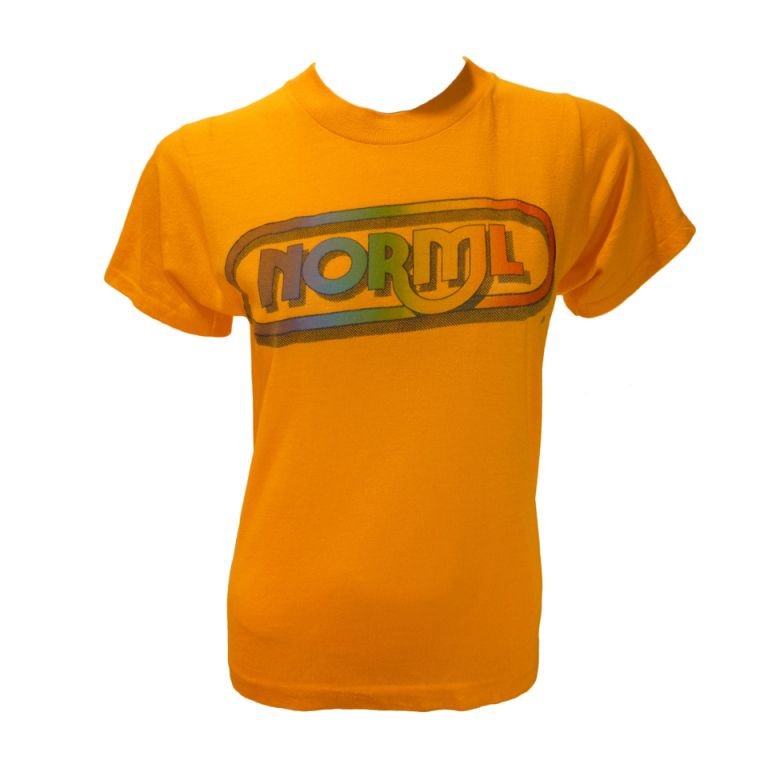 1970s Vintage NORML Logo Tee Shirt in 2019.