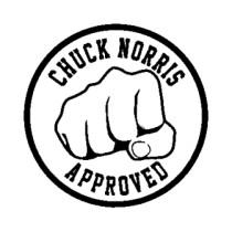 Chuck Norris Clip Art.