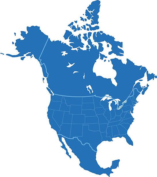 Best North America Illustrations, Royalty.