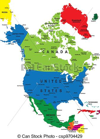 Map north america Illustrations and Clipart. 18,342 Map north.