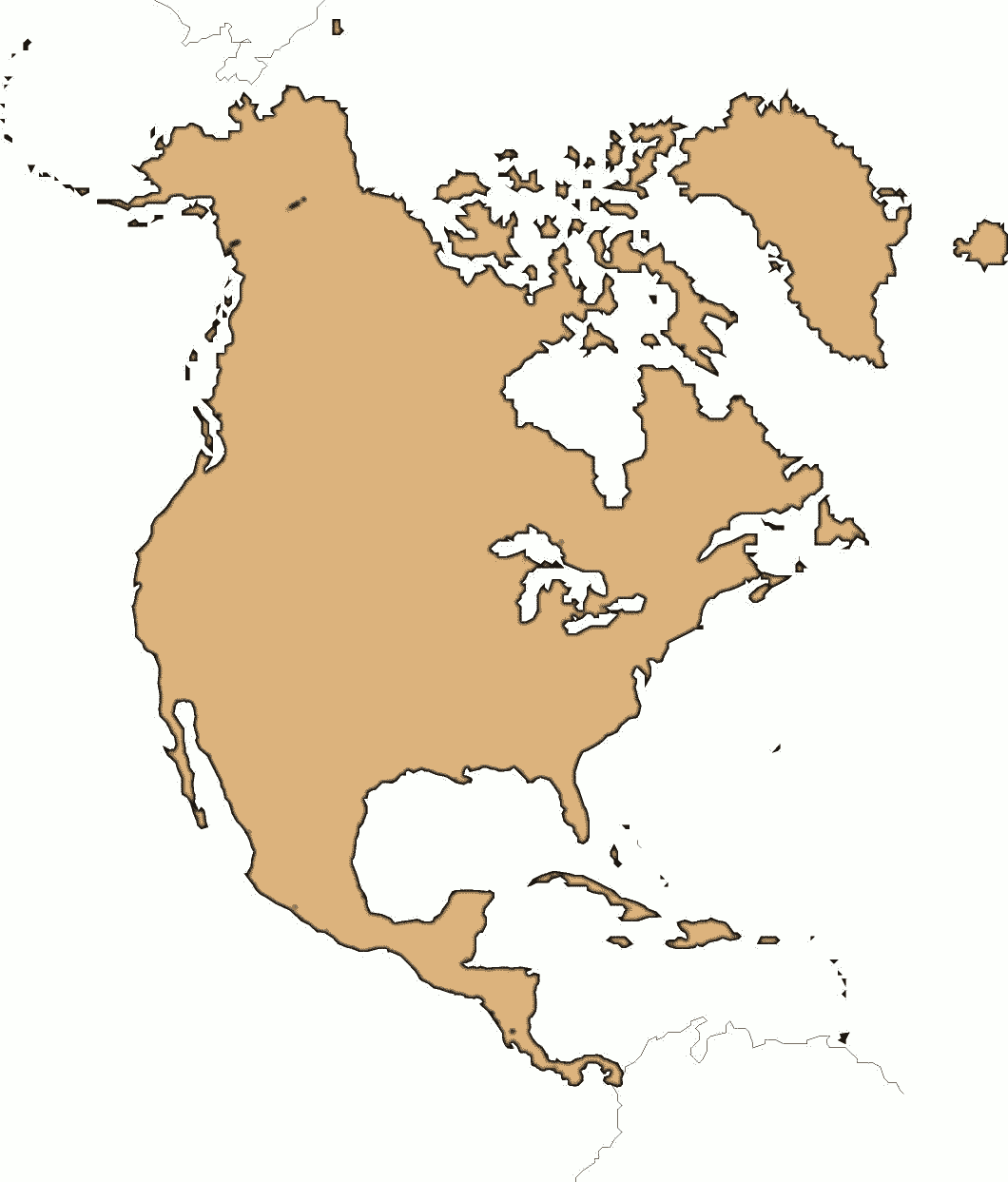 North America Clip Art Download.