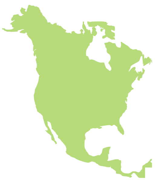 Clipart of north america.