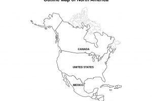 North america clipart black and white 1 » Clipart Portal.