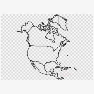 Free North America Clipart Black And White Cliparts.