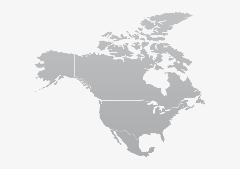 North America Continent Png Banner Transparent Library.