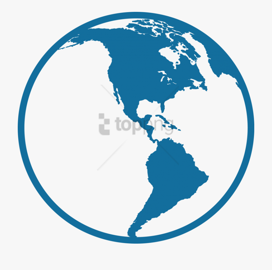 Free Png North And South America Icon Png Image With.