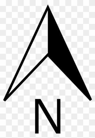 Free PNG North Arrow Clip Art Download.