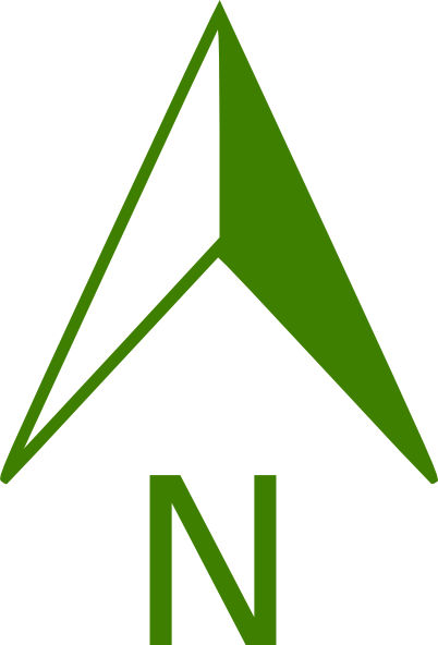 North Arrow Vector.