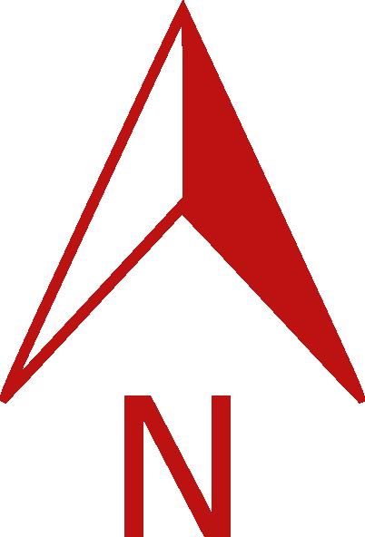 North Arrow Symbol.