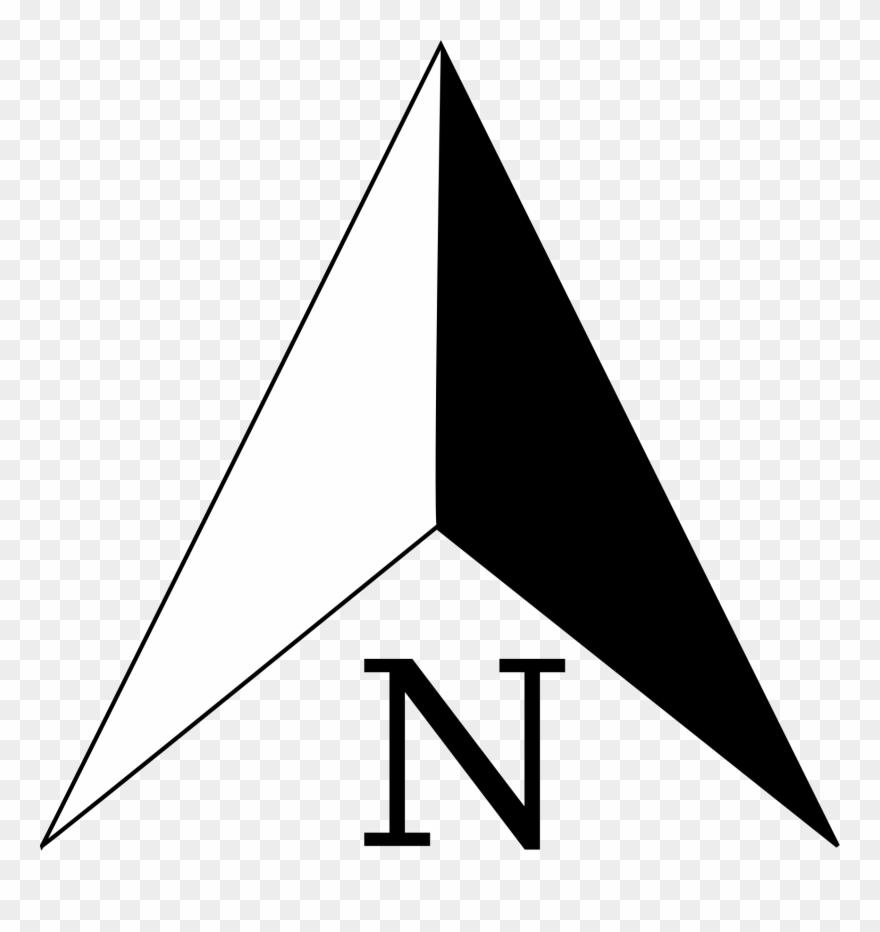North Arrow Clipart (#63896).