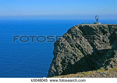 Stock Image of North Cape and Arctic Ocean k5048045.